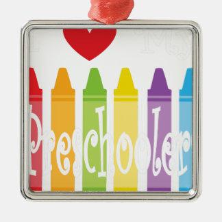 Adorno Metálico preescolar teacher2