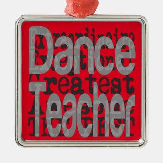 Adorno Metálico Profesor de la danza Extraordinaire