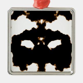 Adorno Metálico Prueba de Rorschach de una tarjeta de la mancha