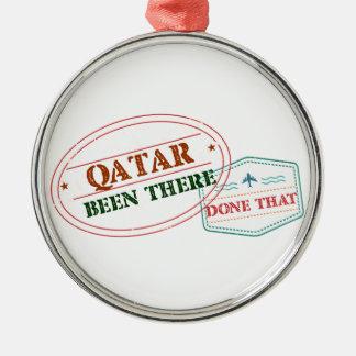 Adorno Metálico Qatar allí hecho eso