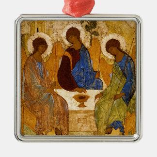 Adorno Metálico Regalo católico bizantino de Rublev del icono de