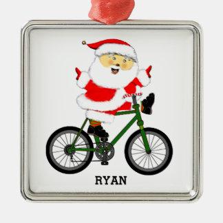 Adorno Metálico regalo personalizado del ciclista