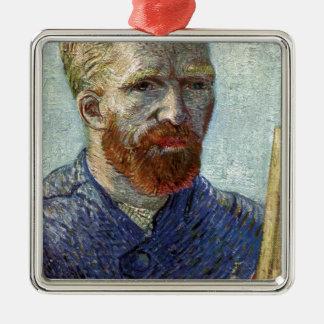Adorno Metálico Retrato de uno mismo de Van Gogh