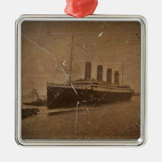 Adorno Metálico RMS Southampton titánico