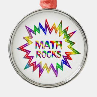 Adorno Metálico Rocas de la matemáticas