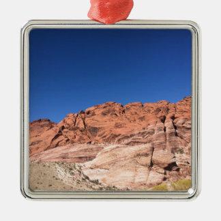 Adorno Metálico Rocas rojas y cielos azules
