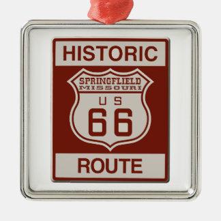 Adorno Metálico Ruta 66 de Springfield