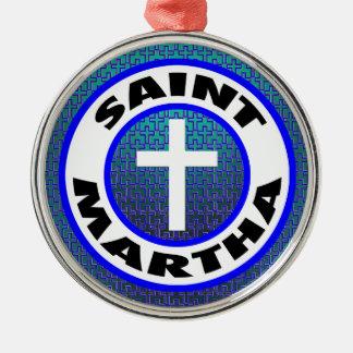 Adorno Metálico Santo Martha