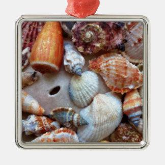 Adorno Metálico Seashells por la costa