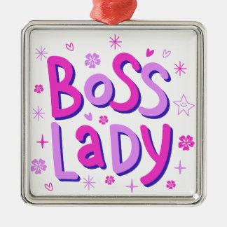 Adorno Metálico Señora de Boss