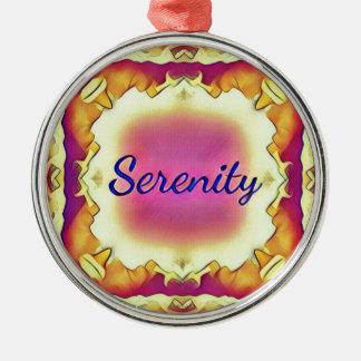 Adorno Metálico 'Serenity enmarcado inspirado bonito