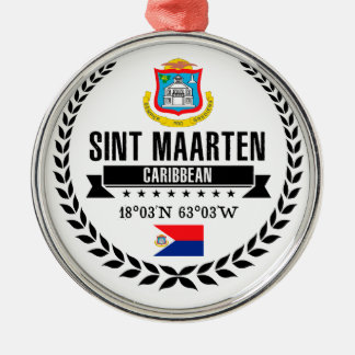 Adorno Metálico Sint Maarten