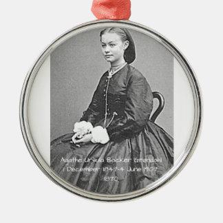 Adorno Metálico Soporte Grondahl, 1870 de Ágata Ursula
