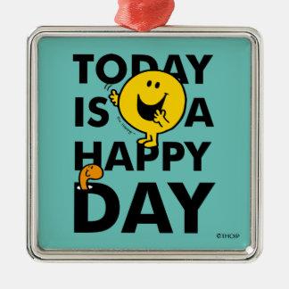 Adorno Metálico Sr. Happy el | es hoy un día feliz