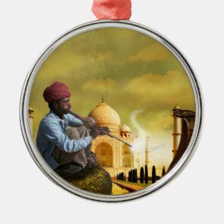 Adorno Metálico Taj Mahal