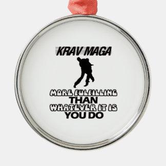 Adorno Metálico Tender los DISEÑOS de Krav Maga