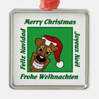 Adorno Metálico Terrier irlandesa Weihnacht