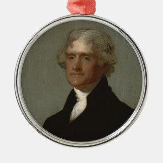 Adorno Metálico Thomas Jefferson