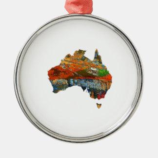 Adorno Metálico Tiempo australiano