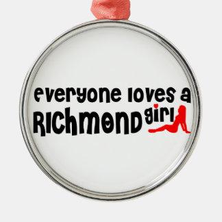 Adorno Metálico Todos ama a un chica de la colina de Richmond