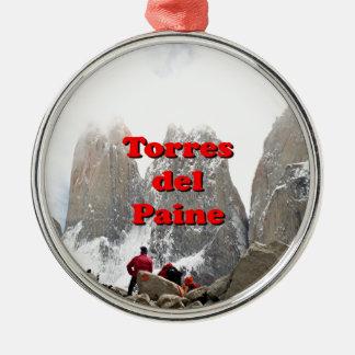 Adorno Metálico Torres del Paine: Chile