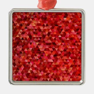 Adorno Metálico Triángulos sangrientos