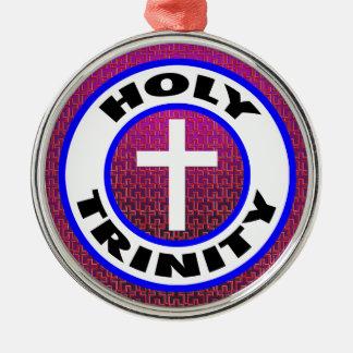 Adorno Metálico Trinidad santa