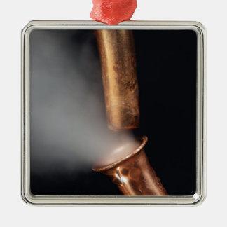 Adorno Metálico Tubo de cobre con vapor
