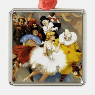 Adorno Metálico Un circo de bailarines