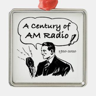 Adorno Metálico Un siglo de radio de la