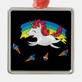 Adorno Metálico Unicornio lindo con el ejemplo fresco del arco