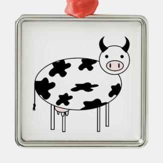 Adorno Metálico Vaca linda
