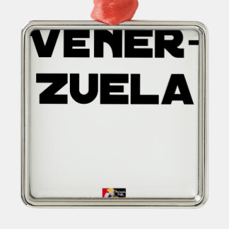 Adorno Metálico VÉNER-ZUELA - Juegos de palabras - Francois Ville