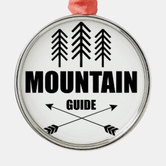 Adorno Metálico Viaje y aventura, guía de la montaña