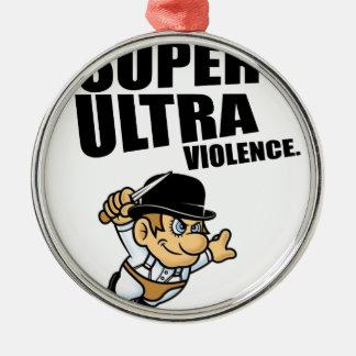 Adorno Metálico violencia estupenda del dibujo animado ultra