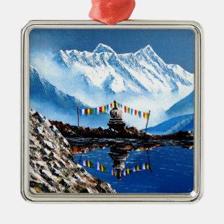 Adorno Metálico Vista panorámica de la montaña Nepal de Annapurna