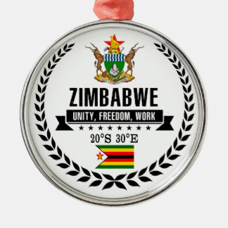 Adorno Metálico Zimbabwe