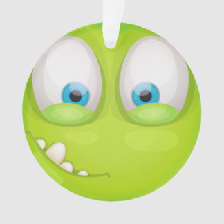 Adorno Muglee verdoso - encanto grande del ojo