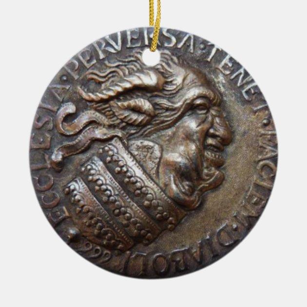 Antiguo Medallón Anti Eclesiástico