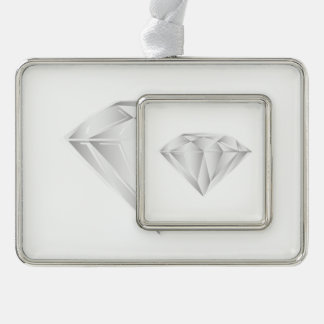 Adorno Navideño Diamante blanco para mi amor