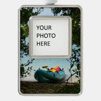 Adorno Navideño El Kayaking en las Islas Vírgenes de St Thomas los