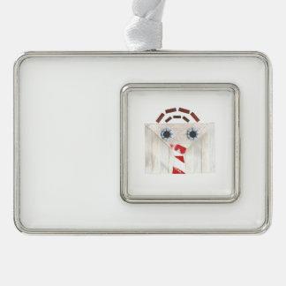 Adorno Navideño Ornamento enmarcado hombre de la maleta