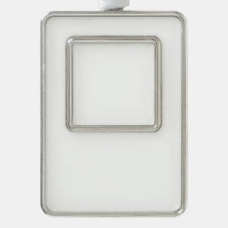 Adorno Navideño Ornamento enmarcado personalizado - vertical