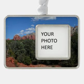 Adorno Navideño Panorama de rocas rojas en Sedona Arizona
