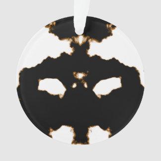 Adorno Prueba de Rorschach de una tarjeta de la mancha