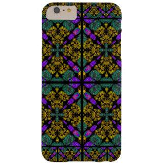 Adorno púrpura y de color de malva funda barely there iPhone 6 plus