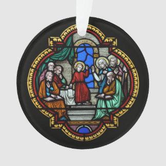 Adorno religioso del vitral