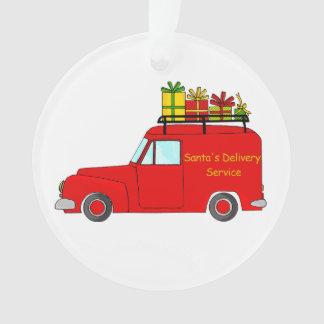 Adorno Servicio de la entrega de Santa