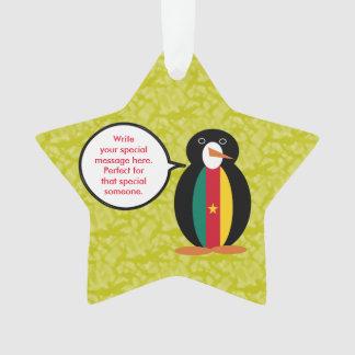 Adorno Sr. camerunés Penguin del día de fiesta