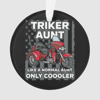 Adorno Tía de Triker de la motocicleta